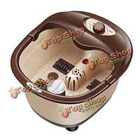 Автоматический горячий электрический массаж ножной ванны pediluvium массажер ванны ноги ведра