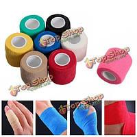 Нетканые клей эластичное медицинской палец руки бандаж Краны опорные