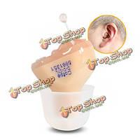 Cofoe DC-C1L мини-цифровой в ухо невидимая глухота слуховых аппаратов усилитель звука усиления голоса