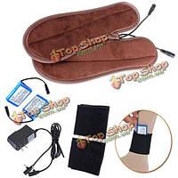 Грелка для ног перезаряжаемые электрические стельки с подогревом
