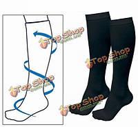 Медицинские эластичные чулки успокаивают варикозные вены носки мужчин, женщин худеющие