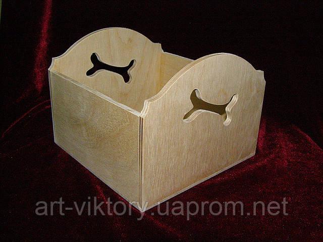 Короб с косточкой (15 х 15 х 11,5 см)