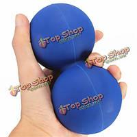 Массажный шарик инструмент физио ролика тренажерный зал триггерных обезболивание синий