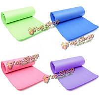 Толщиной 15 мм 183см х 61см Yoga коврик фитнес-упражнения Physio гимнастические маты без скольжения 4 цвета