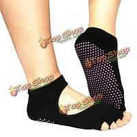 Открытые носки для пилатеса и йоги