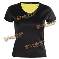 Женщины тонкий Корректирующее белье органа Shaper для похудения жилет учебных корсеты тренажерный зал упражнения йоги футболки