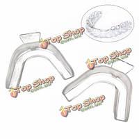 Капы для отбеливания зубов силиконовые прозрачные