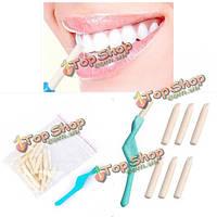 Отбеливание зубов ручка зубной чистки отбеливатель отбеливание зубов с 25pcs ластик