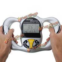 Цифровой ЖК-тело жира анализатор портативный монитор ИМТ индекс массы здоровья метр портативный