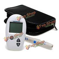 Sannuo быстрое обнаружение мониторинга уровня глюкозы в крови глюкометр метр