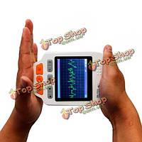 HealForce Prince 180d о LED легкий электрокардиограф портативный частота сердечных сокращений монитор электрокардиограф