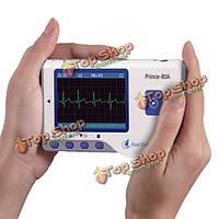 HealForce PC-80А портативный электрокардиограф портативный Bluetooth  ЖК-монитор сердечного здоровья USB непрерывное измерение