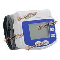 Наручные стиль цифровой монитор артериального давления сфигмоманометр с поясом