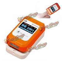 О LED Bluetooth кончик пальца пульсоксиметр крови монитор кислорода беспроводное соединение PC-60NW залечить силы