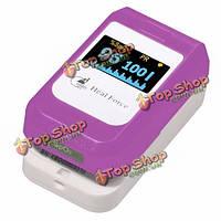 HealForce PC-60b3 о LED кончик пальца пульсоксиметр контролировать содержание кислорода в крови насыщения частоты сердечных сокращений