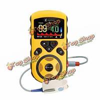 Измеритель кислорода в крови пульсометр Heal Force Prince-100F