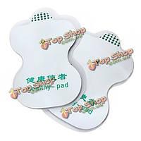 4 пары десятков клейких электродных накладок для иглоукалывание цифровая терапия