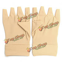 Antiedematic перчатки для артрита рук пальцы на запястье моющейся упругой пальцев облегчить боль
