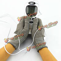 Акупунктура цифровая терапия массажер с пара электродов перчаток