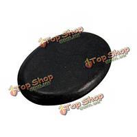 Мини-овальной формы с горячими камнями спа-массаж базальтовые породы черный