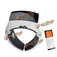 Беспроводной пульт дистанционного управления шеи терапия массажер импульс далеко инфракрасного отопления нагревается вибрационный инс
