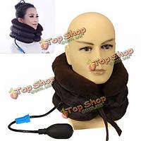 Воздух шейки шеи тяги мягкая распорка для головной боли голову назад плеча боли в шее