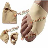 1 пара по уходу за ногами ног бурсит большого пальца стопы ног рукава Protecter носки облегчить боль ортопедические