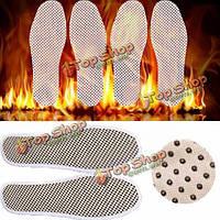 Турмалин сам нагрел нагревание магнитной массажной стельки ноги далеко инфракрасная теплая подушка обуви