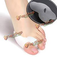 Гель toe сепараторы носилки бурсит большого пальца стопы выпрямитель для выравнивания