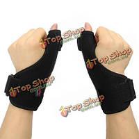 Aolikes регулируемый медицинский вид спорта пальца Spica шины на опорный ортез стабилизатор растяжение связок деформации артрита