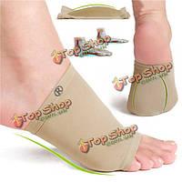 Растягивается вентилируют кремния поддержка гель плоскостопие корректор уход за ногами подушки боль relif