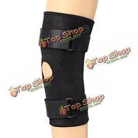 Регулируемые колена спортивная нога надколенника поддержка скобка площадку ремень Защитная спортивный зал