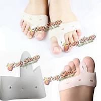 Силиконовый гель ног выпрямители корректор протекторы ноги боль облегчить уход