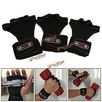 Спортивные наручные Наруч рука ладони перчатки для фитнеса гимнастики тяжелой атлетике тренировки гантелей