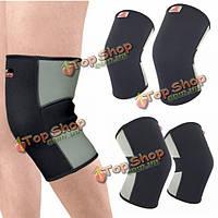 Сжатие незначительное облегчение при артрите растяжение связок поддержка коленного бандажа спорт рукав улучшить циркуляцию крови