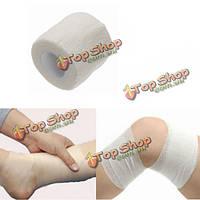 4шт белый нетканый клейкая эластичные поддерживающие медицинские палец руки бандажные ленты