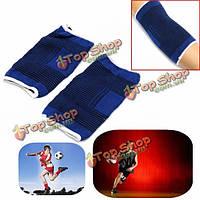 1pair упругой рукой локтя рукав повязку поддержки спортсмен защиты охранник дышащий