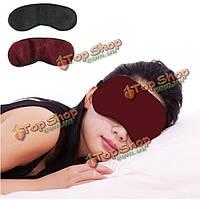 Турмалин магнитного повязку облегчить усталость улучшить сон устранить темные круг глаз тени завязанными глазами маски