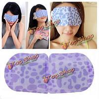 Горячий компресс паровая маска для глаз сна тени для век