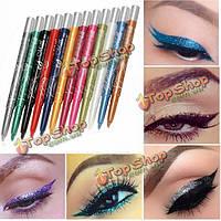 Menow 12 цветов долговечными тени для глаз карандаш для глаз карандаш для губ перо макияж красота набор инструментов набор