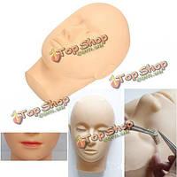 Лица макияж наращивание ресниц обучение манекен головы