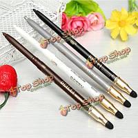 4 цвета 2в1 подводка для глаз карандаш для глаз тени ручки губки макияж инструмент