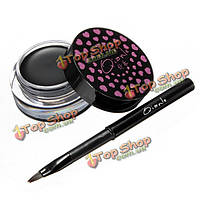 Мягкий водонепроницаемый длительный карандаш для глаз гель крем с кисти для макияжа набор