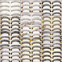 10 пар природных накладные ресницы ручной работы валенок мягкий макияж