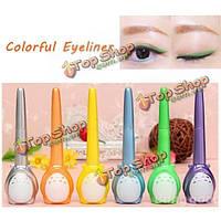 Очаровательный длительный двойного назначения красочный карандаш для глаз Eye Liner ручка жидкости макияж