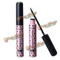 Розовый флакон черный макияж водонепроницаемый подводка для глаз жидкой подводки для глаз пен