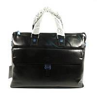 Портфель кожаный мужской черный 6951-1, фото 1