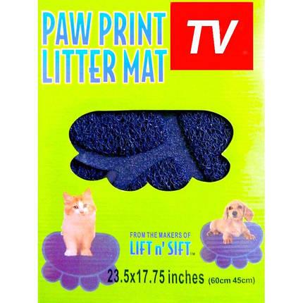 Коврик для питомца Paw Print Litter Mat, фото 2