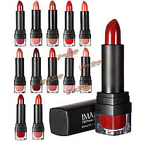 Imagic 12 женщин цветов помады долговечны губ палку блеск красоты инструмент Косметический макияж