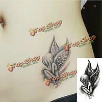 Ангел дизайн водонепроницаемый временные татуировки стикер передачи